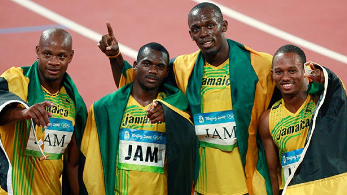 Jamaica förlorar sina medaljer från Peking-stafetten